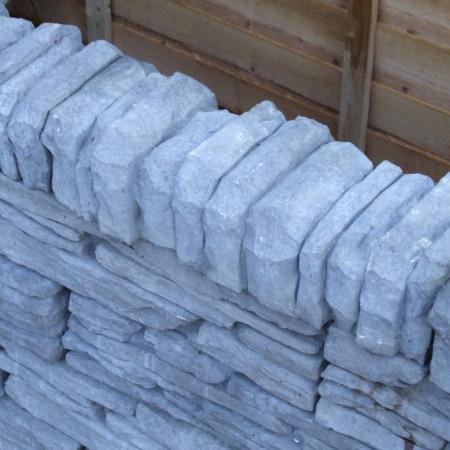 Slate walling charcoal